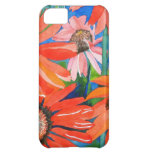 Pink and Red Coneflowers iPhone 5C Cases