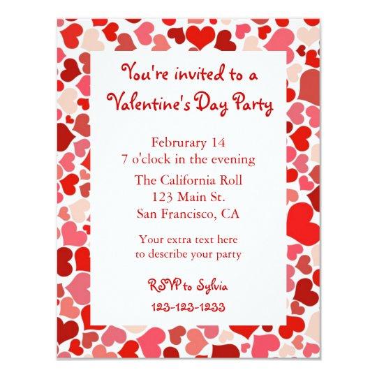 valentines invite wording
