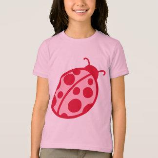 Pink and Red Ladybug T-Shirt