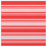 [ Thumbnail: Pink and Red Pattern Fabric ]