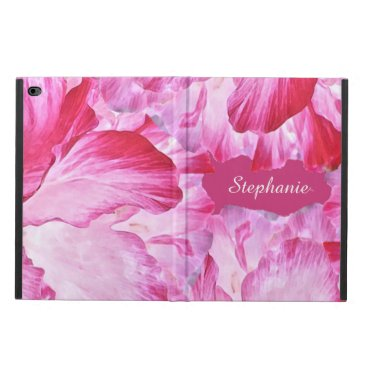 Pink and Red Poppy Flowers iPad Air 2 Case
