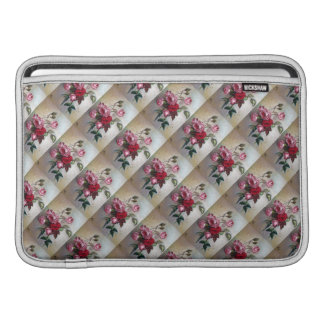 Pink and Red Roses Floral MacBook Air Sleeve