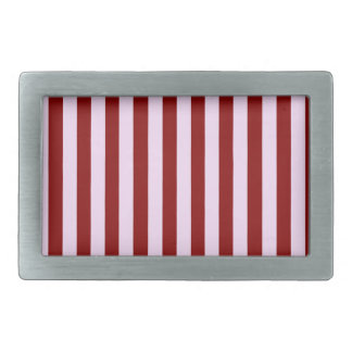 Pink and Red Stripes Belt Buckles