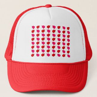 Pink and Red Turtles Trucker Hat