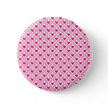 Pink and Red Valentine's Day Hearts Pattern