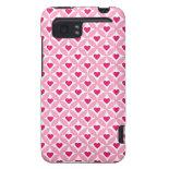 Pink and Red Valentine's Day Hearts Pattern HTC Vivid / Raider 4G Case