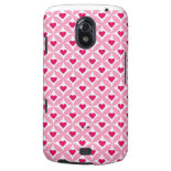 Pink and Red Valentine's Day Hearts Pattern Samsung Galaxy Nexus Cover