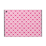 Pink and Red Valentine's Day Hearts Pattern iPad Mini Cover