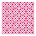 Pink and Red Valentine's Day Hearts Pattern Poster