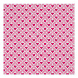 Pink and Red Valentine's Day Hearts Pattern Posters