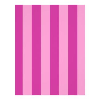 Pink and Red-violet Stripes Full Color Flyer