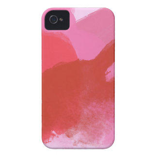 Pink and Red Watercolour iPhone 4 Cover