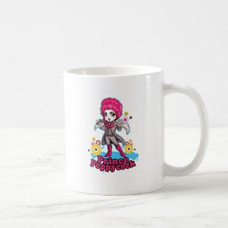 Pink and Silver Poppycock Mug