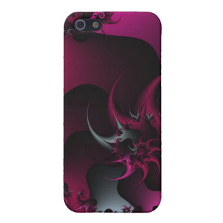 pink and silver thorns case for iPhone 5