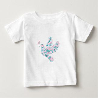 Pink and Teal DOVE Tee Shirt