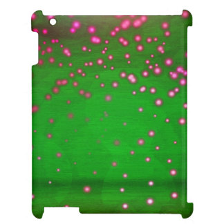 Pink And Violet Flickering Lights Case For The iPad 2 3 4