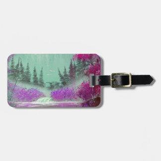 Pink and Violet  Mist Bag Tag
