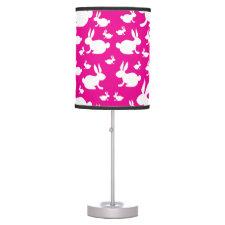 Pink Bunny Desk Lamp
