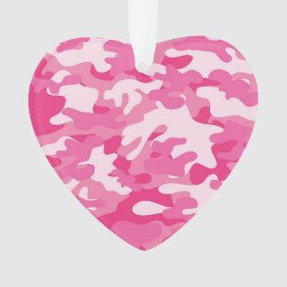 Pink and White Camo Design