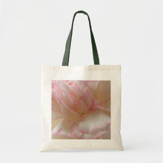Pink and White Carnation Tote Bag