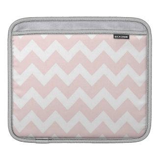 Pink and White Chevron iPad Sleeves