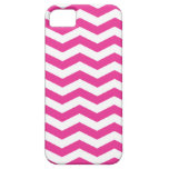 Pink and White Chevron iPhone Case iPhone 5 Case