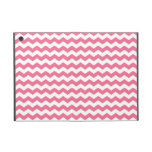 Pink and white chevrons covers for iPad mini