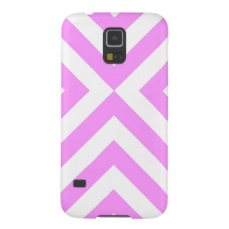 Pink and White Chevrons Galaxy S5 Covers