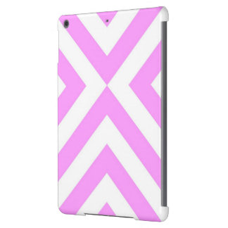 Pink and White Chevrons iPad Air Cover