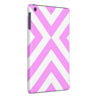 Pink and White Chevrons iPad Mini Cases