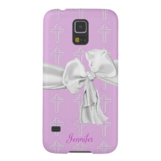 Pink and White Christian Samsung Galaxy S5 Case