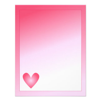 Pink and white cute hearts and dots announcements