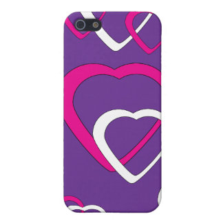 Pink and White Cutout Covers For iPhone 5