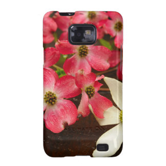 Pink And White Dogwood Flowers Samsung Galaxy SII Case