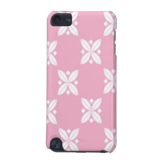 Pink and White Floral Design iPod Touch (5th Generation) Cover