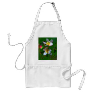 Pink And White Flower Multiple Products Adult Apron