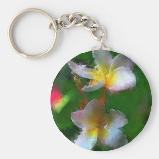 Pink And White Flower Multiple Products Keychain
