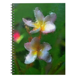 Pink And White Flower Multiple Products Spiral Notebooks
