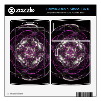 Pink and White Flower Garmin Asus Nuvifone Skins