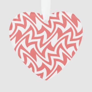 Pink and White Modern Abstract Geometric Patterns