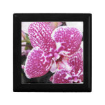 Pink and White Orchid Keepsake Boxes