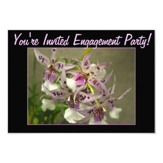 Pink and White Orchids Card