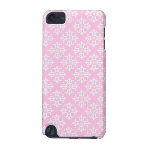 Pink and White Patterned iPod Touch (5th Generation) Covers