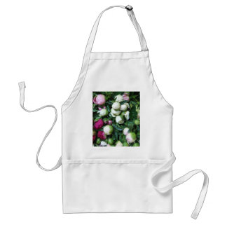 Pink and White Peony Buds Apro Adult Apron