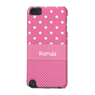 Pink and White Polka Dot iPod Touch 5g Case