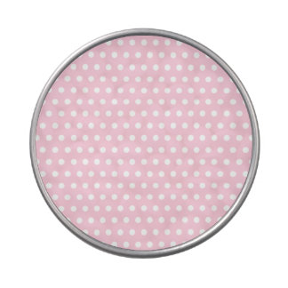Pink and White Polka Dot Pattern. Spotty. Candy Tins