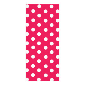 Pink And White Polka Dots Personalized Invite