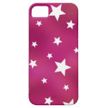 Pink and White Stars iPhone 5 Cover