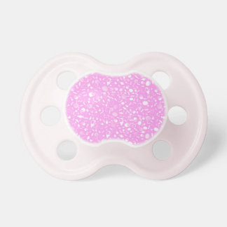 Pink and white sweet candy pattern BooginHead pacifier