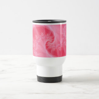 Pink and White Twist Mug